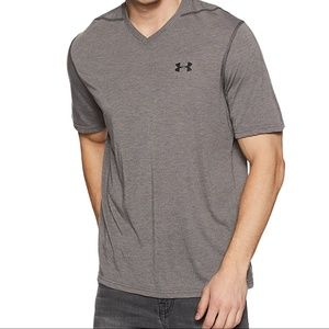NWT Under Armour Men's UA Threadborne Siro Performance T-Shirt White XL